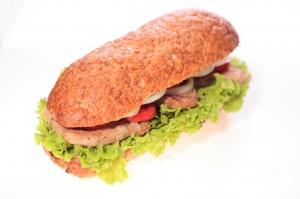 Healthy Po'Boy Tilapia Sandwich Recipe