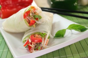 Thai Chicken Spring Rolls Recipe: Recapo June 19 2012