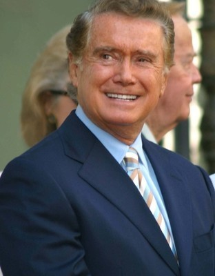 Regis Philbin came by Dr. Oz to talk about his incredible career in broadcasting, retiring from his show, and his acid reflux. (Joe Seer / Shutterstock.com)