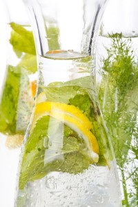Cucumber Mint Water Recipe: August 15 2012 Talk Shows