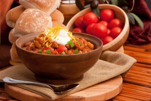 Chili Recipe with Coconut Pecan Pound Cake & Fall Foliage Getaways