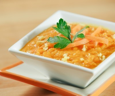 Carrot Ginger Bisque Recipe by Fabio Viviani & Fall Cleaning Tools