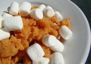 Michael Strahan Sweet Potato Casserole Recipe with Marshmallows