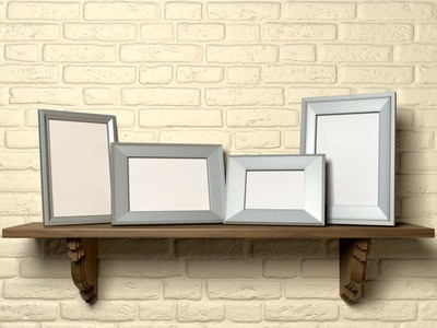 Martha Stewart Accordion Picture Frames & Email Inbox Personality Test