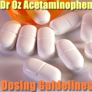 Dr Oz: Acetaminophen Dosing Guidelines & Does Holding It In Cause UTI?