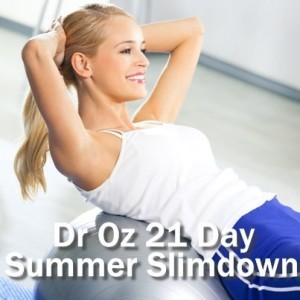 Dr Oz: Billy Blanks Jr. 21 Day Summer Slimdown & Metabolism Drink