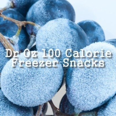 Dr Oz: 21 Day Summer Slimdown Meal Plan & 100 Calorie Freezer Snacks