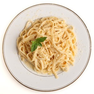Light Fettuccine Alfredo Recipes & How To Lose One Pound Per Week