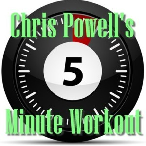 Dr Oz: Chris Powell 5-Minute Workout & Muscle Mass Transformation