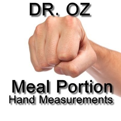 Dr Oz: Jumpstart Meals, Hand Portion Measurements & 100-Calorie Snacks