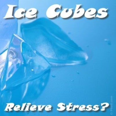 Dr Oz: Ice Cubes Lower Stress & Dark Chocolate Commute Stress Buster