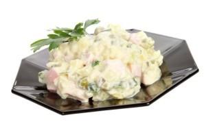 """Culinary Institute: Healthy """"Potato"""" Salad Recipe & Tofu Spinach Dip"""