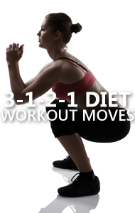 Dr Oz 3-1-2-1 Workout Moves: Sumo Squats, Lunge Twist + Rainbows