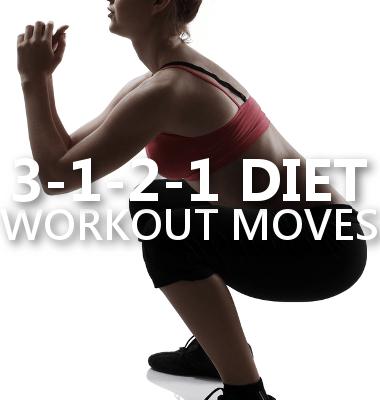 Dr Oz 3-1-2-1 Workout Moves: Sumo Squats, Lunge Twist + Rainbows