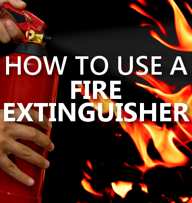 Dr Oz: How to Use a Fire Extinguisher, P.A.S.S. Acronym + Safety Tips