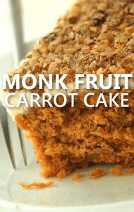 Dr Oz: Charm City Monk Fruit Carrot Cake + Monk Fruit Sweetener Review