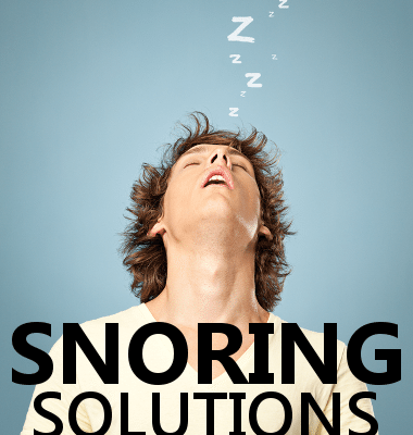 """Dr. Oz talked to Dr. Michael Breus about ways to combat snoring, including varying your sleeping position, going on a """"snore diet"""", staying hydrated, and using lavender to get to sleep."""