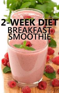 Dr Oz: 2-Week Weight Loss Diet Food Plan & Breakfast Smoothie Recipe