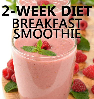 Dr Oz: 2-Week Weight Loss Diet Food Plan & Breakfast Smoothie Recipe