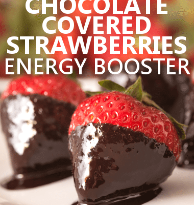 Dr. Oz shared a great Dark Chocolate-Covered Strawberries recipe on his show today.