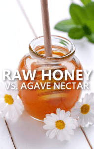 Dr Oz: Raw Honey Sweetener Recommendation + Agave Nectar for Diabetics