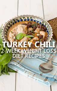 Dr Oz: 2-Week Rapid Weight Loss Updates + Easy Turkey Chili Recipe