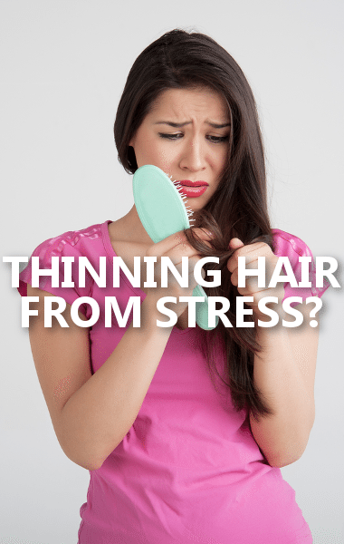 Dr Oz Thinning Hair Cause Stomach Stress Hormones