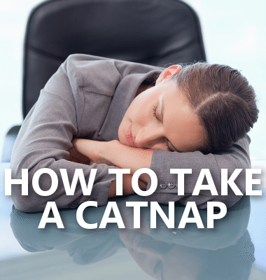 Dr Oz: How to Take a Catnap Anywhere & Dr Oz's Secret Energy Booster