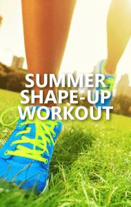 Dr Oz: Stepp Stewart: 5-Minute Summer Shape Up + Hot Legs Exercise