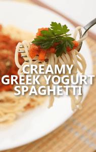 Dr Oz: Greek Yogurt Spaghetti Recipe & It's All Greek To Me Review