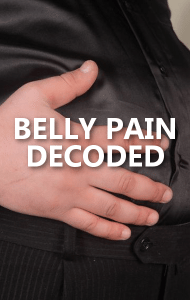 Dr Oz: Belly Pain Goes Away After Pooping & Non-Stomach Causes
