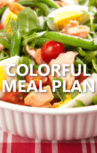 Dr. Oz: Family Health, Eating 4 Colors of Veggies & Breakfast Triangle