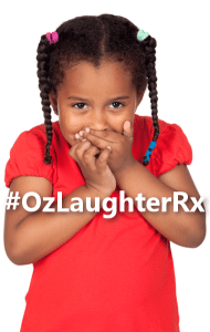 #OzLaughterRx: Children's Hospital Superheroes & Window Washers