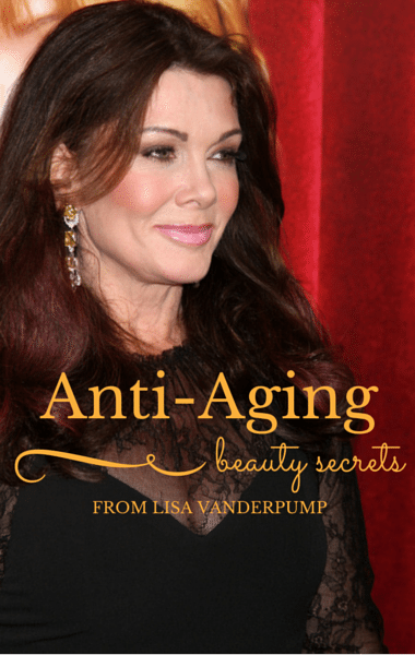 Lisa vanderpump came by dr oz to share her beauty secrets including