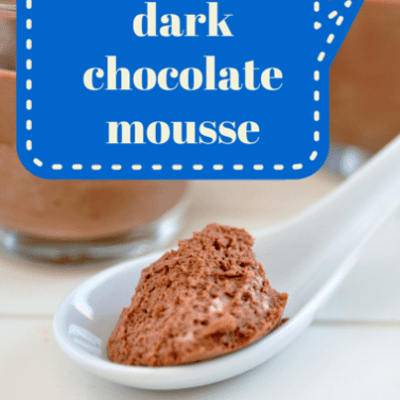 Travis Stork: Dark Chocolate Mousse Recipe from Doctor's Diet Cookbook