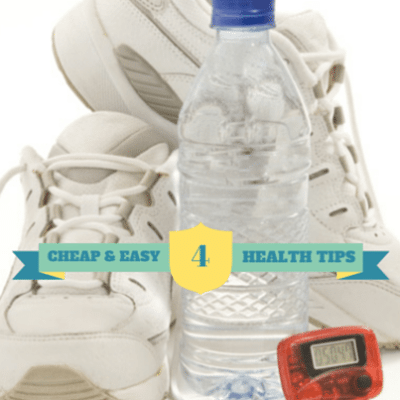 Take More Steps with a Pedometer & Drink Half Your Weight in Water