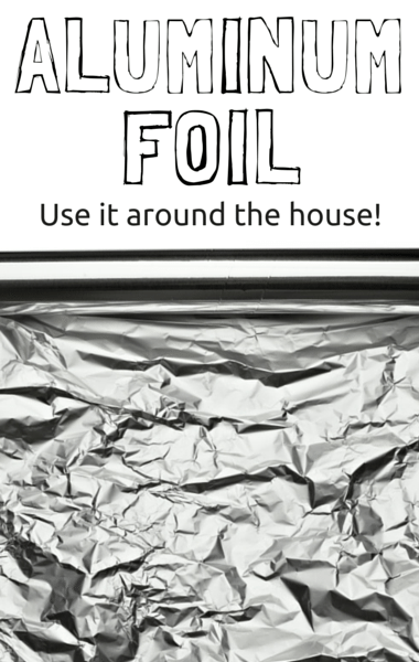 Dr Oz: Aluminum Foil for Cleaning, Moving Furniture & Sharpen Scissors