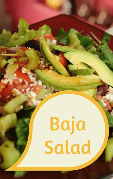 Dr. Oz: Curtis Stone Baja Salad with Cilantro Dressing Recipe