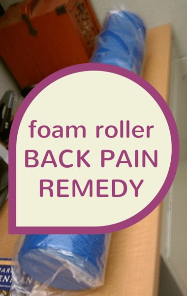 Dr Oz Back Pain: Foam Rollers + IcyHot Smart Relief TENS Therapy