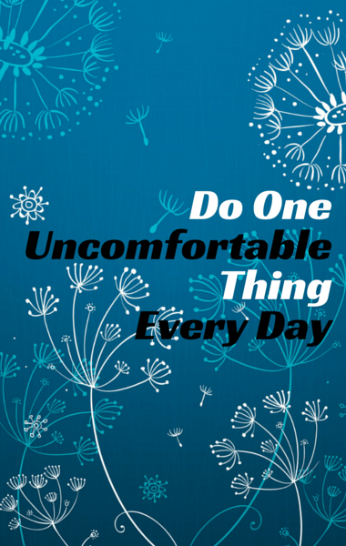 Dr. Oz: 8 Controlling Emotions & Do One Uncomfortable Thing Per Day