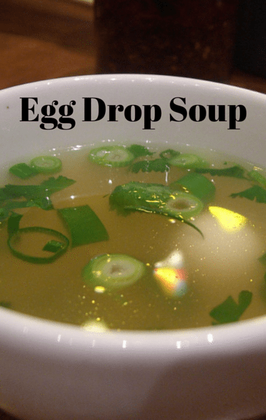Dr. Oz: Vegetable Egg Drop Soup Recipe