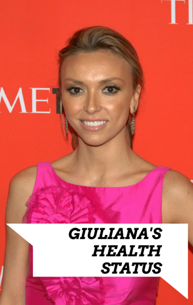Dr. Oz: Does Fashion Police's Giuliana Rancic Have an Eating Disorder?