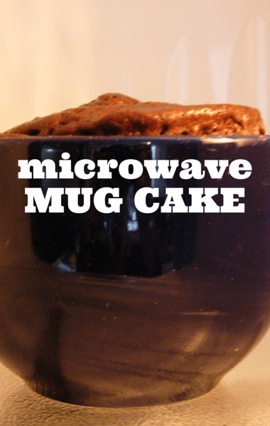 Dr Oz: Cake in a Mug Recipe & Clean the Cutting Board with a Microwave