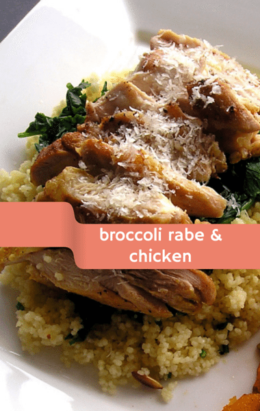 Dr. Oz: Broccoli Rabe with Chicken and Apricots Recipe