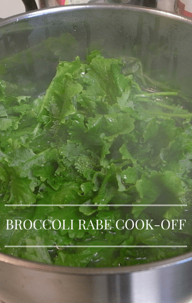 ... made his Grilled Broccoli Rabe Bread Salad recipe. (naotakem / flickr