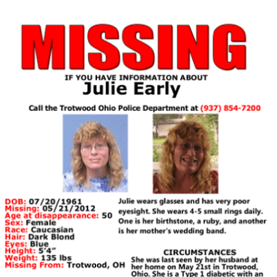 Dr Phil: Missing Woman Julie Earley Disappears — Family Blames Husband