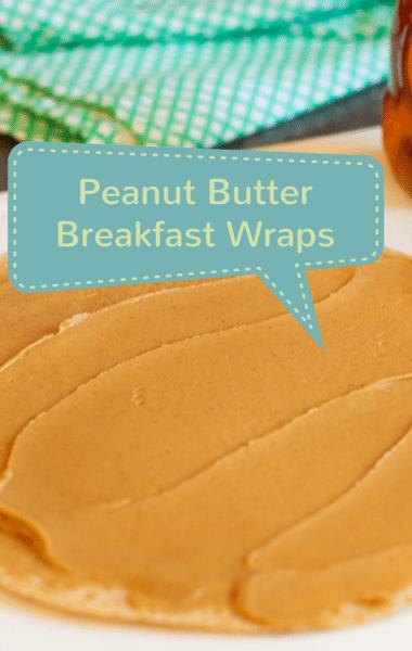 Dr. Oz: Stephanie Smith Peanut Butter Breakfast Wrap Recipe