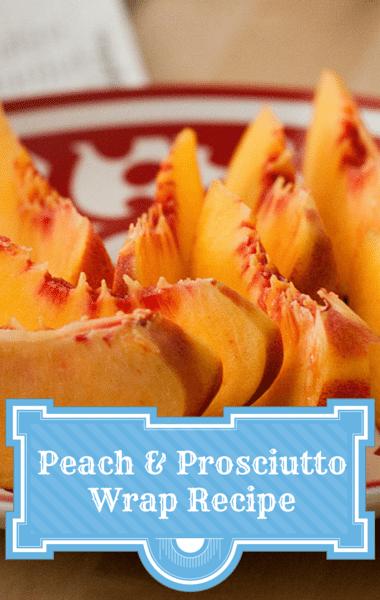 Dr. Oz: Sandra Lee Peach and Prosciutto Wrap Recipe