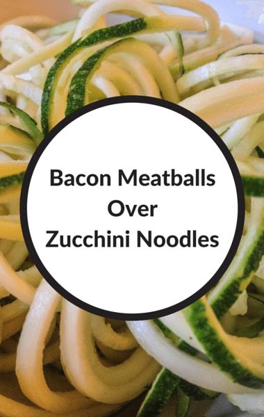 Dr Oz: Paleo-Friendly Meal Ideas + Bacon Meatballs & Zoodles
