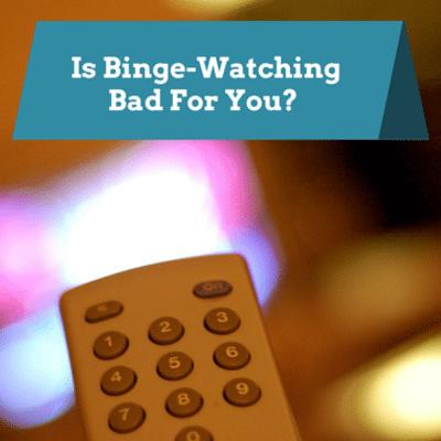 Dr Oz: Binge-Watching Obsession + Healthier TV Habits